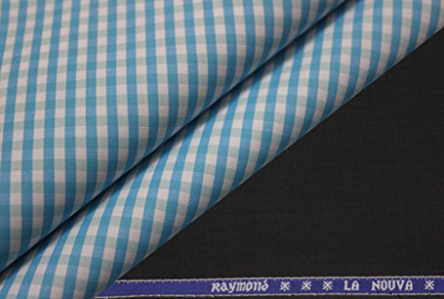 Raymond Combo Of Polyviscouse Trouser And Staunch Shirt Piece(1.25 Mtrs Pant;2.20 Mtrs...