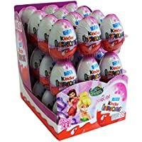 Kinder Surprise huevo de chocolate 20g Hadas de Disney (paquete de 36)
