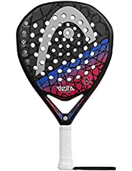 Head Graphene Touch Delta Motion 2018 Pala de pádel de Tenis, Mujer, Negro,