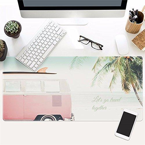 @A Office Juego Mouse Pad Es Muy Grande, Y La Base De Goma Antideslizante Es Compatible Con Ratón Óptico Y Láser Para Cualquier Teclado Y Ratón De Ordenador Portátil,8.400X900Mmx3Mm.