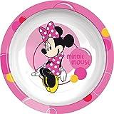 Ciao 33915–Suppenteller Minnie Bubbles, Pink/Weiß