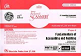 Scanner CS Foundation Programme (2017 Syllabus) Paper - 4 Fundamentals of Accounting and Auditing