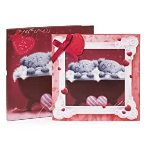 "Me To You V77XZ006 Tatty Teddy Carte de Saint-Valentin ""To the love of my life"" Boîte souvenir"