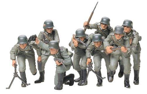 Tamiya - 35030 - Figurine - Militaire - Troupes D'Assaut Allemandes