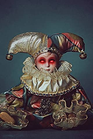 Harlequin Doll - Demon Doll Harlequin Notebook: 150 page Notebook