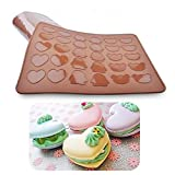 Bakeware Pinguin Bär Herz Silikon Matte-Makronen Cookie Form Muffin Backblech für Ofen Backblech Mats