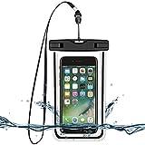 Housse Étanche, BeGreat Pochette Waterproof Universelle Sac Imperméable pour iPhone 6s/6, iPhone 6 Plus, Samsung, Huawei, LG, et d'autres appareils de taille égale ou inférieure à 6 pouces