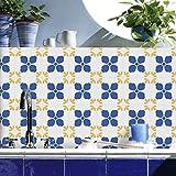 JY ART Fliesenaufkleber Bad Küchenfliesen-Aufkleber Wandkunst Fliesentransfers Wandgemälde Home Moderne Dekoration, 20cm*5m