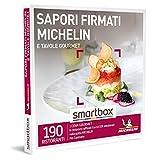 Smartbox - Sapori firmati MICHELIN e tavole gourmet Cofanetto Regalo Gourmet 1 cena gourmet per 2 persone