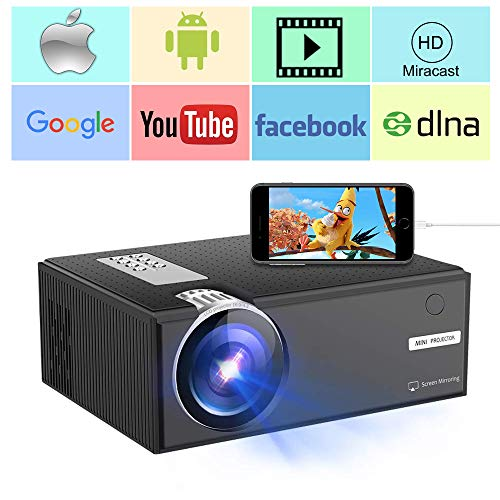 Heimkino Wifi 1920*1080 Mini Led Tragbare Lcd Projektor Android 7.1 Os Beamer Full Hd 4 K Proyector Hdmi Sync Telefon Laptop Pc Heim-audio & Video
