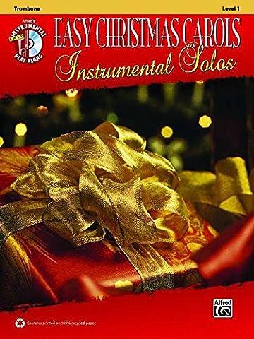 Easy Christmas Carols Instrumental: Trombone (Alfred