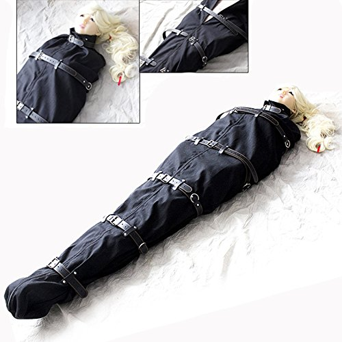 Sm Sexspielzeug Ganzkörper Bondage Tasche BDSM Schlafsack Fetisch Slave Fesseln Auffanggurt Erwachsene Spiel