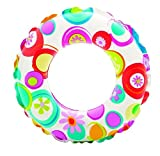 #2: Intex 59241 Kids Circular Inflatable Swim Ring Float, Size 61 cm, For Ages 6 – 10 Years