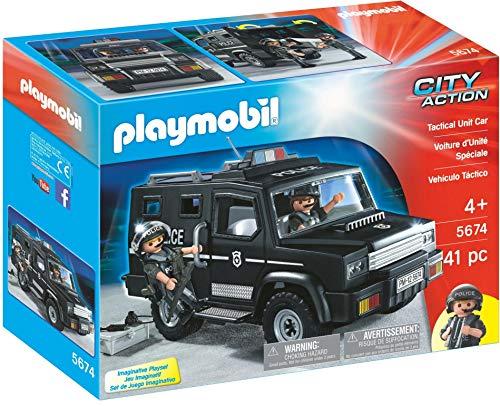 Playmobil 5674 City Action Tactical Unit Car, bunt