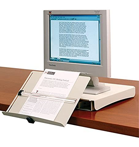 In-Line Document Holder and Copy Drawer by Alimed