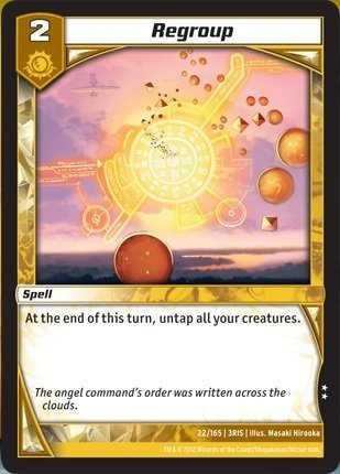 Kaijudo TCG - Regroup (22) - Rise of the Duel Masters by Wizards of the Coast