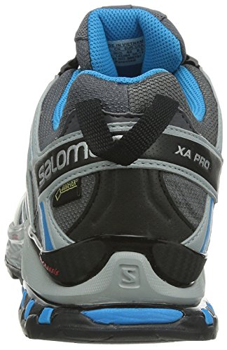 Salomon  XA PRO 3D GTX, Chaussures de Trail homme Gris (Dark Cloud/Light Onix/Methyl Blue)