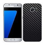 7 Layer Skinz Custom Skin Wrap for Samsung Galaxy S7 Edge (Black Carbon Fiber)