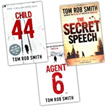 Tom Rob Smith 3 Books Collection Pack Set RRP: £32.97 (The Secret Speech, Child 44, Agent 6)