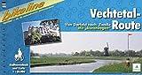 Bikeline Vechtetal-Route. Von Darfeld nach Zwolle. Mit kunstwegen. 1 : 50 000. - Esterbauer