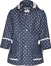 Playshoes 408566 Girl's Waterproof Raincoat Dots