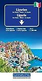 Ligurien Regionalkarte Italien Nr. 6: San Remo-Genua-La Spezia, Massstab 1:200000 (Kümmerly+Frey Reisekarten) -