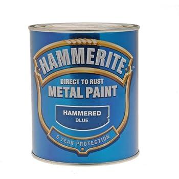Hammerite Metallo Vernice Martellato, oro: Amazon.it: Fai ...