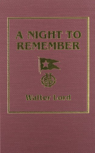 A Night to Remember by Walter Lord (1992-04-15) for sale  Delivered anywhere in UK