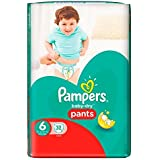 Pampers Baby Dry Pants Taille 6, 16 kg et + 32 couches