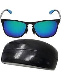 Tangda Lunettes de Soleil Wayfarer UV400 Sunglasses Polarisées Fashion Mode pour Femme Homme Avec poche de protection et Etui au Hasard