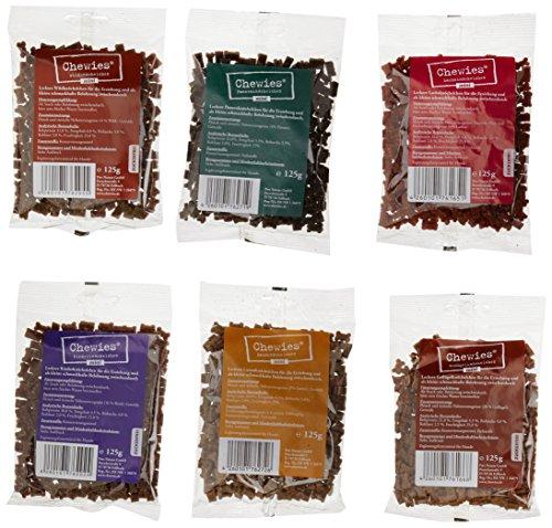 hundeinfo24.de Chewies Hundeleckerli Multipack 3, 6 x 125 g, 1er Pack (1 x 750 g)