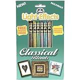 DMC Light Effects Floss Pack 6/Pkg-Classical Blends