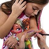 20 x Kinder Tattoo - Lost Child - Sicherheitstattoo für Kinder - Notfallnummer