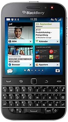 (CERTIFIED REFURBISHED) BlackBerry Classic Black