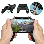 ZORBES PUBG Mobilie Gaming Console with Stand and Dual Triggers
