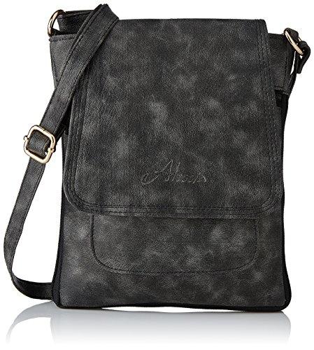 124ce28a02 34% OFF on Alessia74 Women s Sling Bag (Grey) (PBG513C) on Amazon ...