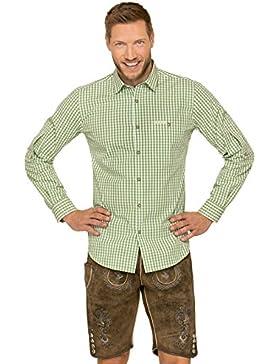 Trachtenhemd Langarm Comfort Fit