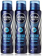 Nivea Fresh Active Deodorant, 150ml (Buy 2 Get 1 Free)