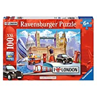 Ravensburger UK 10607 Ravensburger London XXL 100pc Jigsaw Puzzle, Assorted Colours