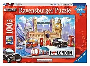 Ravensburger 10607 - Puzzle de 100 Piezas, diseño I Love London XXL