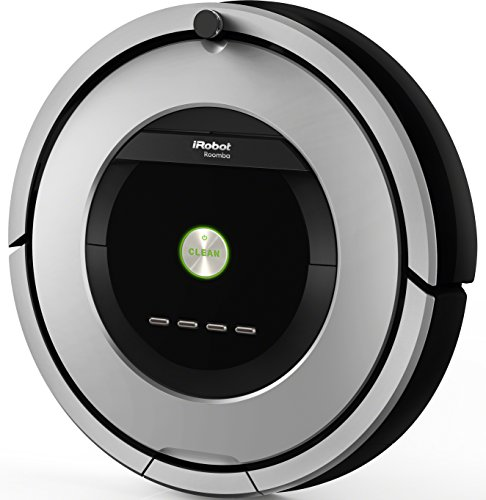 iRobot Roomba 886 Bagless Black, Grey Vacuum Cleaner Robotic vacuum cleaner – Bagless, Black, Grey, 58 dB, for Carpets, Laminate Floor, Lino, Parquet, Wood, 60 Minutes, 3 Hours