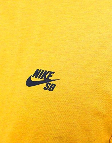 Nike SB Skyline Dri-Fit Cool GFX SS–Maglietta per uomo Dorato / Nero