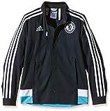 adidas Jungen Jacke Chelsea Anthem, Dark Marine/White/Intense Blue F11, 140, M36336