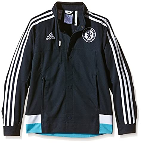 Adidas chelsea anthem veste pour garçon 9-10 ans Bleu - Dark Marine/White/Intense Blue F11