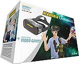 Heromask: Visore 3D Bimbo + Giochi Educativi Inglese, Spagnolo... [ Regali Originali ] - Giocattoli Bambino 5 6 7 8 9 10 11 12 Anni - VR Occhiali Realtà Virtuale