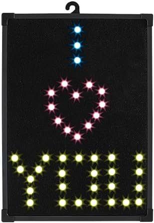 Panneau d'affichage décoratif à 60 LED
