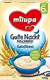 Milupa  Gute Nacht Milchbrei Grießbrei ab dem 6. Monat, 500g