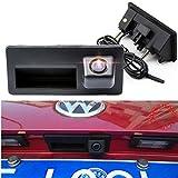 Navinio HD CCD Night Vision voiture tronc poignée caméra de recul caméra de recul pour A4 A5 S5 Q3 Q5 for VW Passat Tiguan Golf Passat Touran Jetta Sharan Touareg