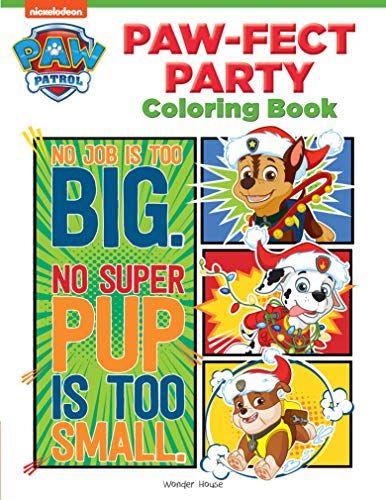 Paw-fect Party: Paw Patrol Coloring Book For Kids