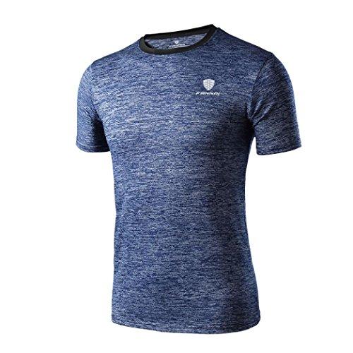 Ordentlich 2019 Neue Sommer Hemd Baumwolle Gym Fitness Männer T-shirt Marke Kleidung Sport T-shirt Männlichen Druck Kurzarm Lauf T Hemd Einfach Zu Reparieren Sportbekleidung
